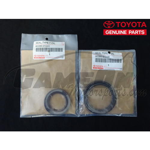 Genuine toyota v160 161 input output shaft seal set for Toyota genuine motor oil equivalent