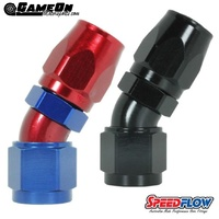 Speedflow -12 45° Hose End (also available in Black)