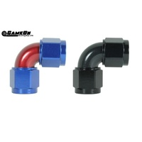 Speedflow 100 Series -10  90° Female to Female Swivel Fitting 133-10-BLK
