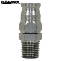 Speedflow Steel 1/8 NPT Male To -3 Hose End Fitting