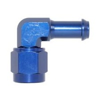 "Speedflow 1/2"" 90° Push On Hose End to -8 Female Fitting"