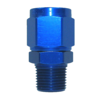"Speedflow 1/2""NPT Male to -10 Fem Swivel (also available in Black)"