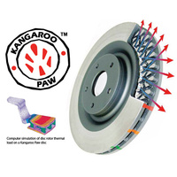 Mitsubishi EVO 6 DBA4000 Rear Brake Rotor