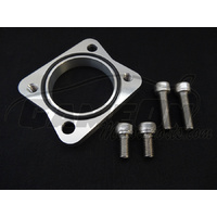 2jz / 1jz Lower Water Neck Rotator Adapter - for single turbo supras -