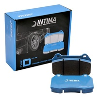 Intima Type D v2 Brake Pads Ford FPV 2003+ Brembo 6 Pot Calipers - Front