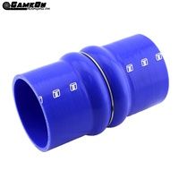 "TURBOSMART Double Hump Silicone Hose 3.50"" Blue TS-HH350-BE"